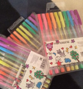 Гелиевые ручки