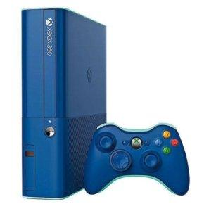Продам xbox360 500гб+55 игр