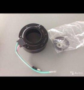 Муфта кондиционера с электромагнитом на Honda crv
