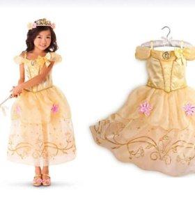 """Праздничное платье для девочки """"принцесса Бэль"""""""