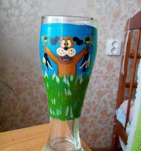 Роспись бокалов