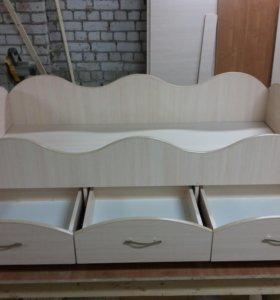 Кровать 150*70 и 160*80 цена с матрасом!!!
