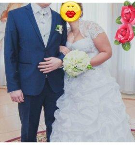Мужской костюм на свадьбу, размер 50