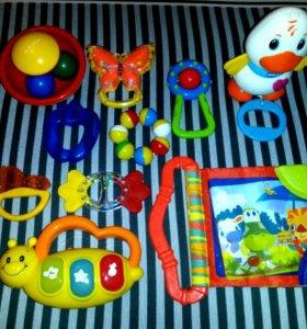 0+ Пакет игрушек 10шт