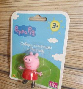Оригинальная фигурка свинки Пеппы