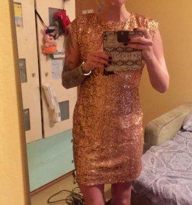 Новое платье открытая спина