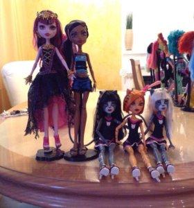 Куклы монстр хай
