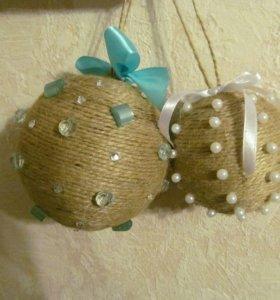 Новогодние шары-игрушки