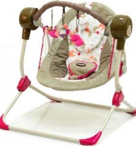 "Электрокачели ""Baby care Pink"""
