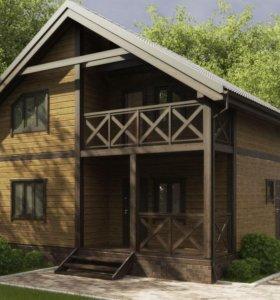 Строительство домов из бруса,каркасных