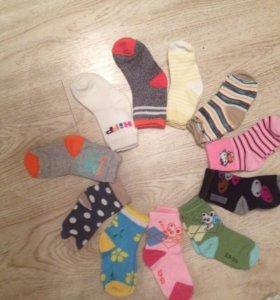 Детские колготки, носочки, все новое