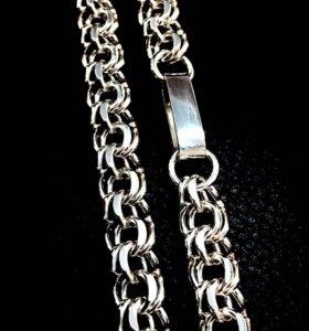 Цепь новая серебро 925* / 92 гр