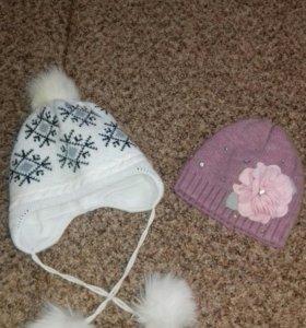 Продаю шапки зима(б/у)