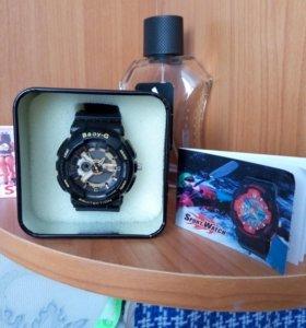 Часы  Casio Baby-G спортивные водонепроницаемые