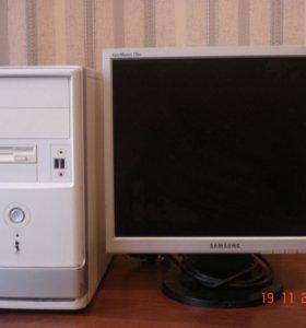 Системный блок+ Монитор