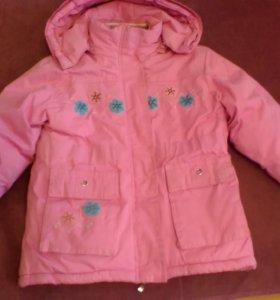 Зимная куртка для девочки