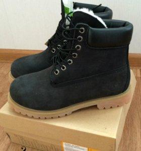 Унисекс.  ботинки Timberland Зима