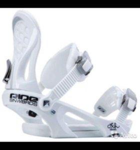 Крепления для сноуборда ride LXh White, размер М