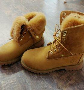 Женские ботинки Timberland  Зима, трансформеры