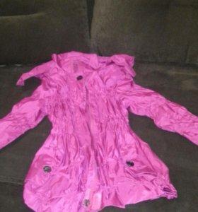 Плащик и курточка на 5~6лет