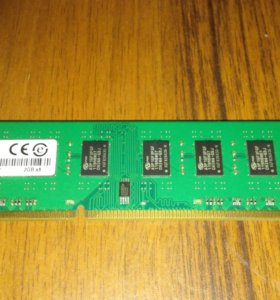 🎮Оперативная память DDR3 1333 4GB(2x2GB)