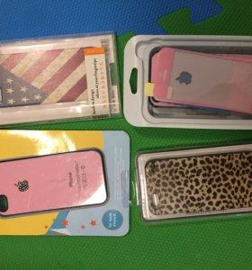 Новые чехлы для iPhone 5 5s SE с коробочками