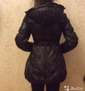 Пальто зима 134-140