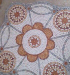 Мозаика из мрамора.300$