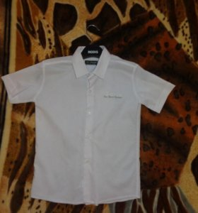 Рубашка на мальчика 6-8лет