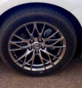 Литые диски на Lexus