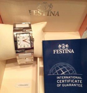 Часы Festina новые, оригинал, Швейцария