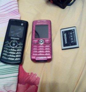 Два телефона один рабочий другой нет