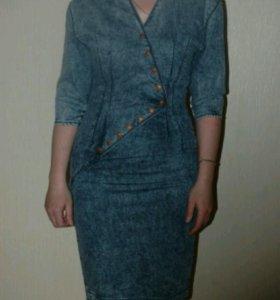 Джинсовое платье Gsusod (gsus original denim).
