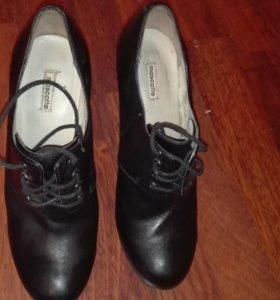 Ботильонны туфли