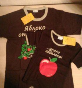 Новый комплект футболок с этикетками