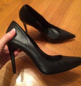 Туфли кожа Uterque