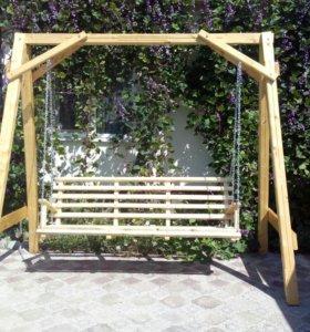 Сделаю на заказ из дерева:лавочки, стулья, столы,