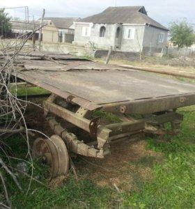 Трактор 2 прицепа