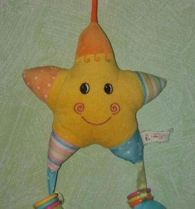 Развивающая игрушка- звезда 0+