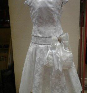 Платье для девочки на рост 140,152