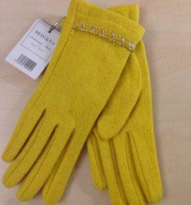 Новые стильные перчатки