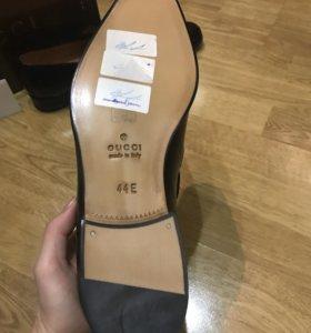 Новые туфли Gucci, размер 44 - 45