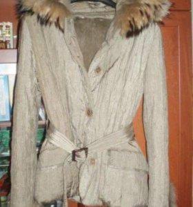 Куртка-шубка, осень-зима-весна, р 44-46