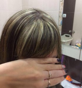 Милирование, окрашивание волос