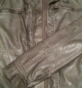 Новая Мужская куртка экокожа