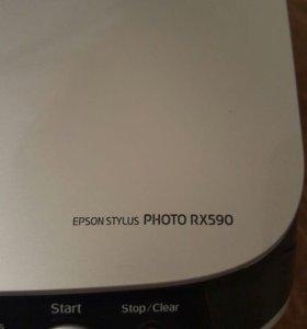 Epson Stylus PHOTO RX590