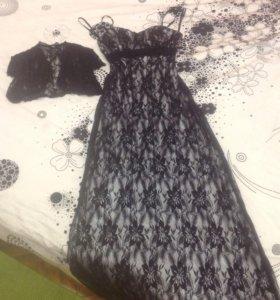 Вечернее платье в пол 40-42 размера