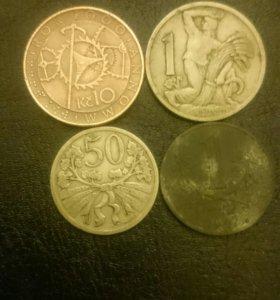 Монеты старой Чехии