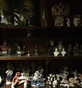 Коллекция каслинского литья и фарфора
