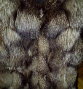 чернобурка -жилетка